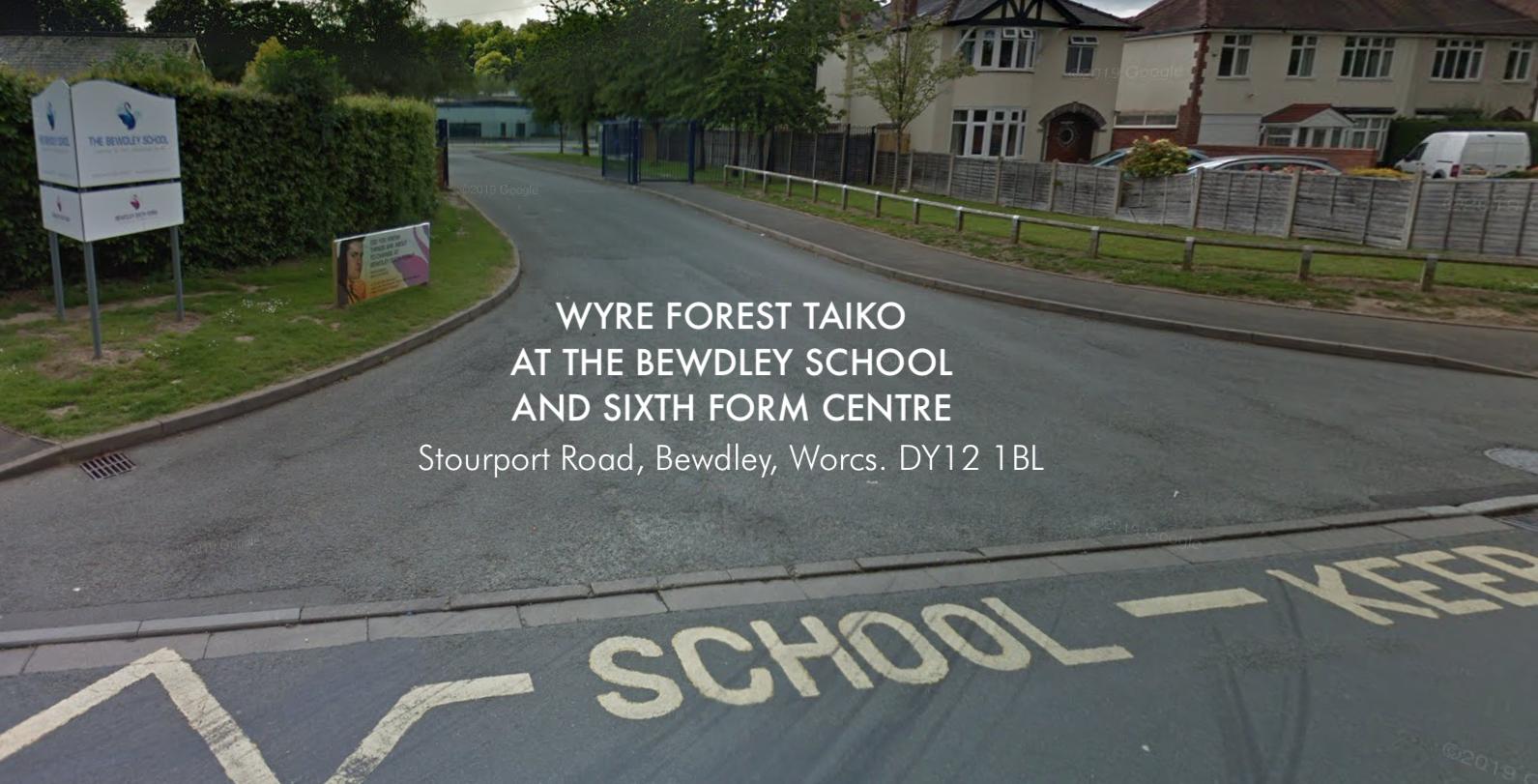 The Bewdley School Entrance